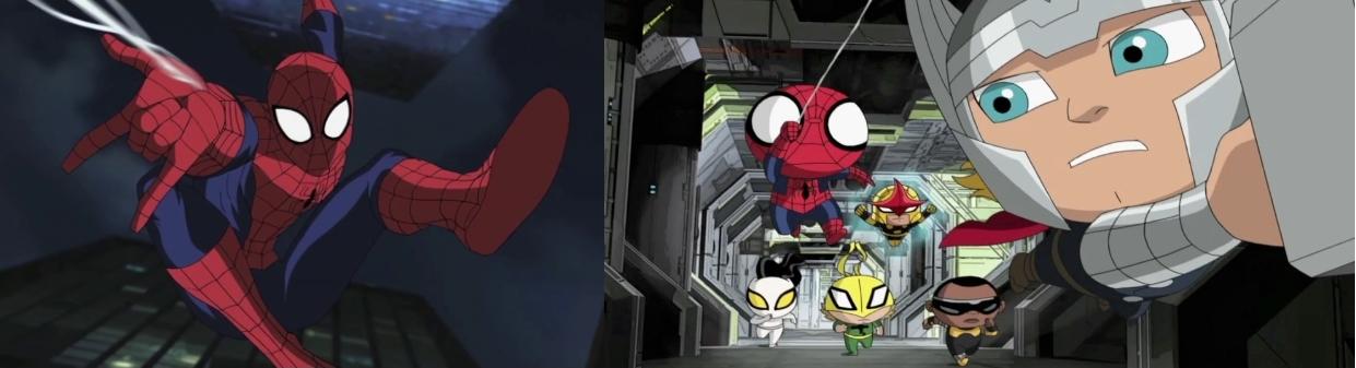 pókember stílusok