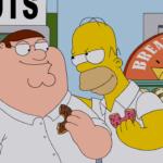The Simpsons Guy: egy csúnya szakítás negyven perce