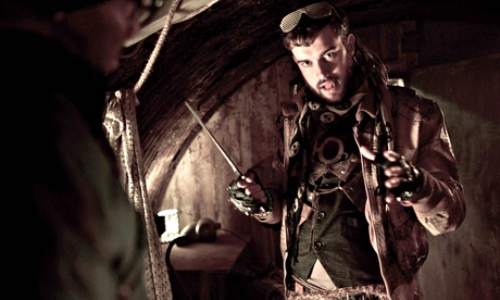 Post-apocalyptic fun … Jack Whitehall in Cockroaches. Photograph: Colin Hutton/ITV