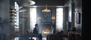 """GOTHAM: L-R: James Frain and David Mazouz in the """"Rise of the Villains: Tonight's the Night"""" episode of GOTHAM airing Monday, Nov. 9 (8:00-9:00 PM ET/PT) on FOX. ©2015 Fox Broadcasting Co. Cr: Nicole Rivelli/FOX."""