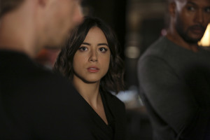 """MARVEL'S AGENTS OF S.H.I.E.L.D. - """"Many Heads, One Tale"""" - The S.H.I.E.L.D. team discovers dangerous truths about the ATCU, and Ward's plans to destroy S.H.I.E.L.D. take a surprising twist, on """"Marvel's Agents of S.H.I.E.L.D.,"""" TUESDAY, NOVEMBER 17 (9:00-10:00 p.m., ET) on the ABC Television Network. (ABC/John Fleenor) CHLOE BENNET"""