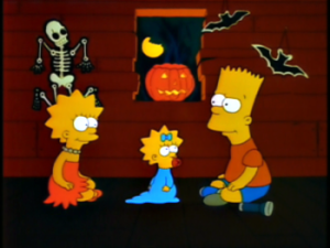 Simpson család Halloween1