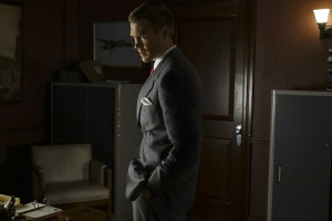 "MARVEL'S AGENT CARTER - ""The Edge of Mystery"" - Peggy and Sousa propose a trade with Whitney Frost, while the SSR gets help from Howard Stark that may be the key to eliminating Zero Matter, on ""Marvel's Agent Carter,"" TUESDAY, FEBRUARY 23 (9:00-10:00 p.m. EST) on the ABC Television Network. (ABC/Byron Cohen) CHAD MICHAEL MURRAY"