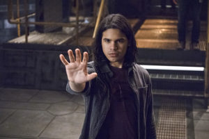 "The Flash -- ""Versus Zoom"" -- Image: FLA218A_0196b.jpg -- Pictured: Carlos Valdes as Cisco Ramon -- Photo: Cate Cameron/The CW -- © 2016 The CW Network, LLC. All rights reserved."