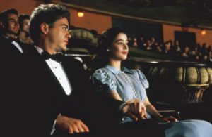 CHAPLIN, Robert Downey Jr., Deborah Maria Moore, 1992, (c) TriStar