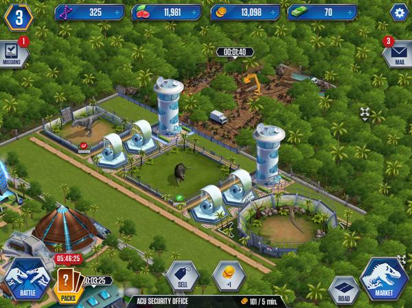 Jurassic Park Builder Royleviking Ep