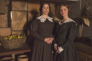 rom ITV VICTORIA Episode Four Pictured: EVE MYLES as Mrs Jenkins and NELL HUDSON as Skerrett. This photograph is (C) ITV Plc and can only be reproduced for editorial purposes directly in connection with the programme or event mentioned above. Once made available by ITV plc Picture Desk, this photograph can be reproduced once only up until the transmission [TX] date and no reproduction fee will be charged. Any subsequent usage may incur a fee. This photograph must not be manipulated [excluding basic cropping] in a manner which alters the visual appearance of the person photographed deemed detrimental or inappropriate by ITV plc Picture Desk. This photograph must not be syndicated to any other company, publication or website, or permanently archived, without the express written permission of ITV Plc Picture Desk. Full Terms and conditions are available on the website www.itvpictures.com For further information please contact: Patrick.smith@itv.com 0207 1573044
