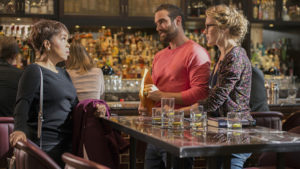"""No Tomorrow -- """"No Doubt"""" -- Image Number: NOT103b_0120.jpg -- Pictured (L-R): Paula Newsmen as Tyra, Joshua Sasse as Xavier and Tori Anderson as Evie -- Photo: Diyah Pera/The CW -- © 2016 The CW Network, LLC. All rights reserved."""