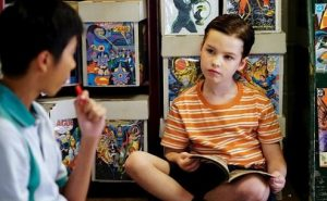 Young Sheldon S01E04 – A Therapist, a Comic Book, and a Breakfast Sausage