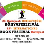 25. Budapesti Nemzetközi Könyvfesztivál – élménybeszámoló