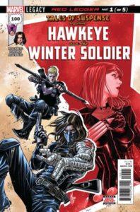 Clint és Bucky akcióban – Tales of Suspense #100-104: Red Ledger