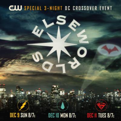 Nem hétköznapi plakátot kapott a CW idei crossover epizódjai
