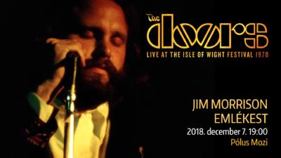 Jim Morrison emlékvetítés két nap múlva