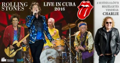 A Rolling Stones 2016-os kubai koncertje a Pólus Moziban