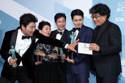 Az Élősködők kapta a mozis fődíjat a hollywoodi színészcéh díjátadóján