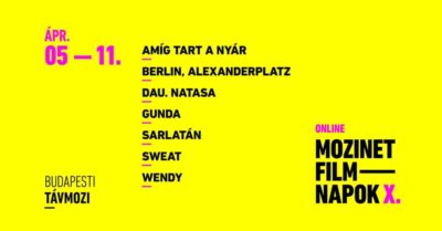 Online X. Mozinet Filmnapok a Budapesti Távmoziban